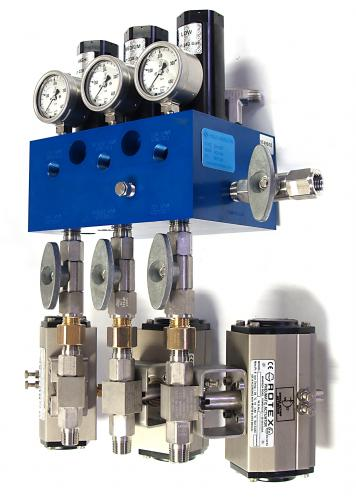 Mechanical Priority Fill Manifold with ESD Valves